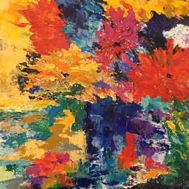 Bright Flowers by Carol Stanley