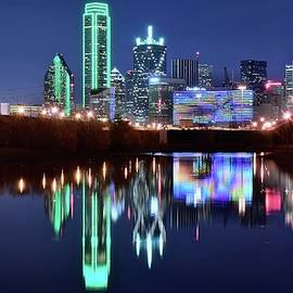 Frozen in Time Fine Art Photography - Bright Lights in Big D