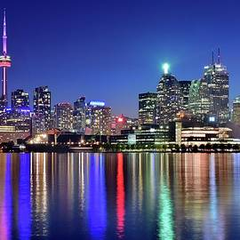 Frozen in Time Fine Art Photography - Bright Lights in Toronto