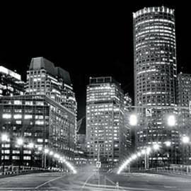 Bright Lights Lead into Boston by Frozen in Time Fine Art Photography