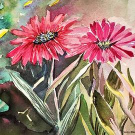 Bright Spring Daisies by Mindy Newman