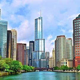 Frozen in Time Fine Art Photography - Bright Sunny Chicago Day