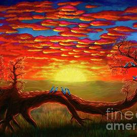 Bright Sunset by Rebecca Parker
