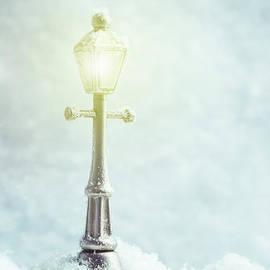 Brightly Lit Lamp - Amanda Elwell