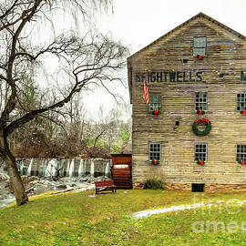 Brightwells Mill Decked Out for Christmas by Norma Brandsberg