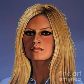 Paul Meijering - Brigitte Bardot Painting 3