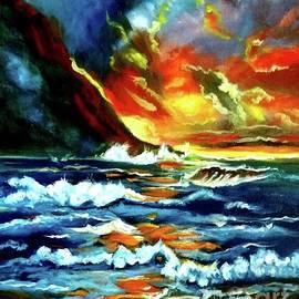 Jenny Lee - Brilliant Hawaiian Sunset