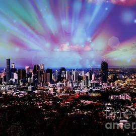 Trudee Hunter - Brisbane Skyline.