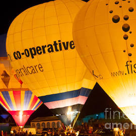 Bristol Balloon Fiesta - Night Gl by Colin Rayner