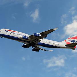 British Airways Boeing 747-400 - Nichola Denny
