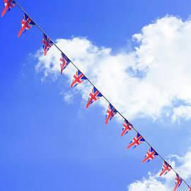 British flag bunting - Tom Gowanlock