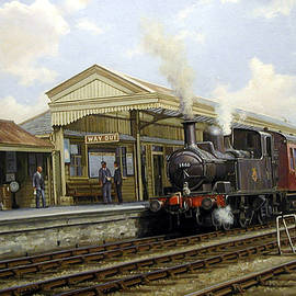 Brixham station 1950. - Mike Jeffries
