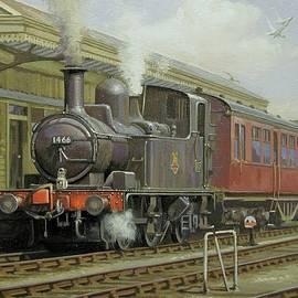 Brixham station 1950s. - Mike Jeffries