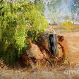 Broken Hill Wreck by Stuart Row