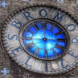 Bromo Seltzer Tower Clock Face #4 by Marianna Mills
