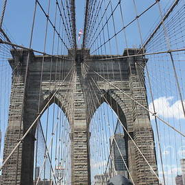 Brooklyn Bridge Arches by John Telfer