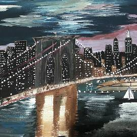 Deepa Sahoo - Brooklyn bridge