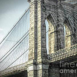 Brooklyn Bridge by Luther Fine Art