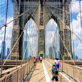 Brooklyn Bridge Walkway - Christopher Arndt