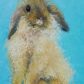 Jan Matson - Brown Easter Bunny