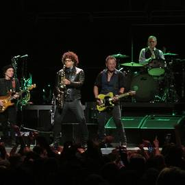 Bruce Springsteen and the E Street Band by Melinda Saminski