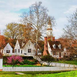 Colonial Williamsburg  by Ola Allen