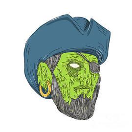 Aloysius Patrimonio - Buccaneer Pirate Grime Art