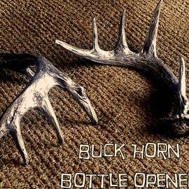 Buck Horn Bottle Opener by Tim  Joyner