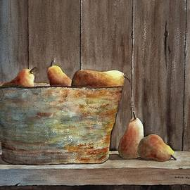 Bucket of Pears by Denise Harty