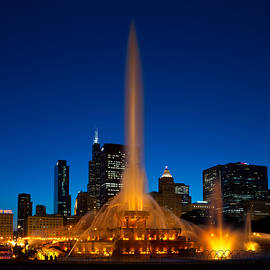 Steve Gadomski - Buckingham Fountain Nightlight Chicago