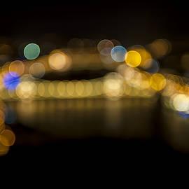 Budapest Bokeh Bridge by Pam  Elliott