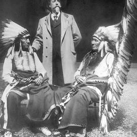 David Frances Barry - Buffalo Bill with Red Cloud and American Horse