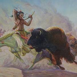 Buffalo Hunt - Gregory Perillo