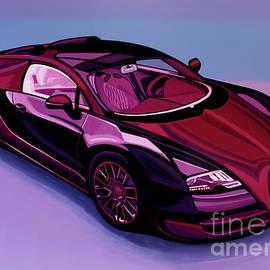 Bugatti Veyron 2005 Painting by Paul Meijering