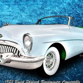 Buick Skylark Roadmaster Convertible for 1953 by Chas Sinklier