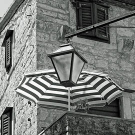 Building in Black and White by Sally Weigand