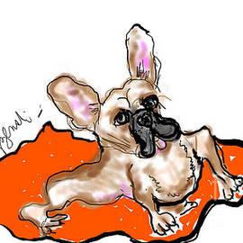 Bulldog by Geraldine Myszenski