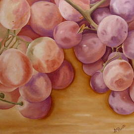 Bunch Of Grapes by Angeles M Pomata