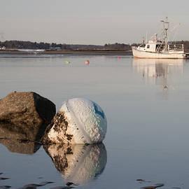 Kirkodd Photography Of New England - Buoy Reflection