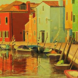 Burano, Italy - Study by E Colin Williams ARCA