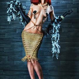 Rod Meier - Burlesque Lady - Fine Art of Bondage