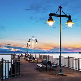 Alan Brown - Burlington Pier Sunset