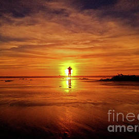 Craig Corwin - Burning Man At Sunset