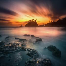 Burning sky by William Freebilly photography