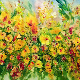 Shirley Sykes Bracken - Burst of Gold 22X30