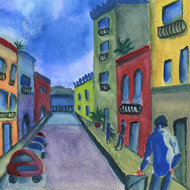 Frank Bright - Business In Old San Juan