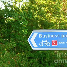 Business parks sign - Tom Gowanlock