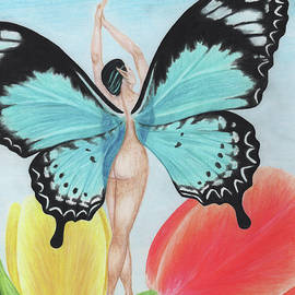 Butterfly Fairy by Stephanie Yates