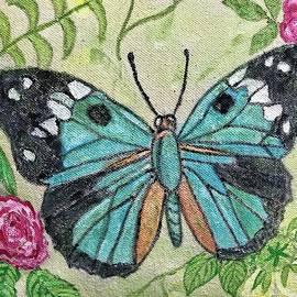 Paula Cox - Butterfly in My Garden