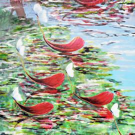 Butterfly Pond by Medea Ioseliani